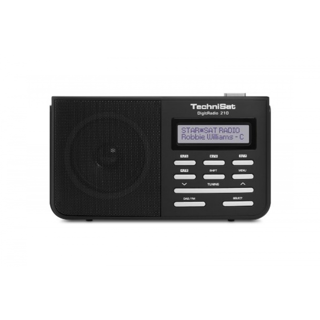 technisat digitradio 210 tragbares dab digitalradio test. Black Bedroom Furniture Sets. Home Design Ideas